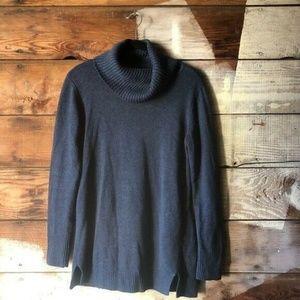 H by Halston Oversized Blue Tunic/Sweater Sz Small